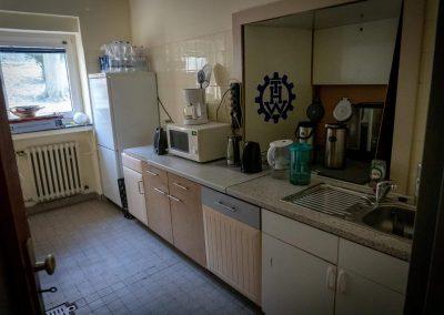 Die Gästeküche
