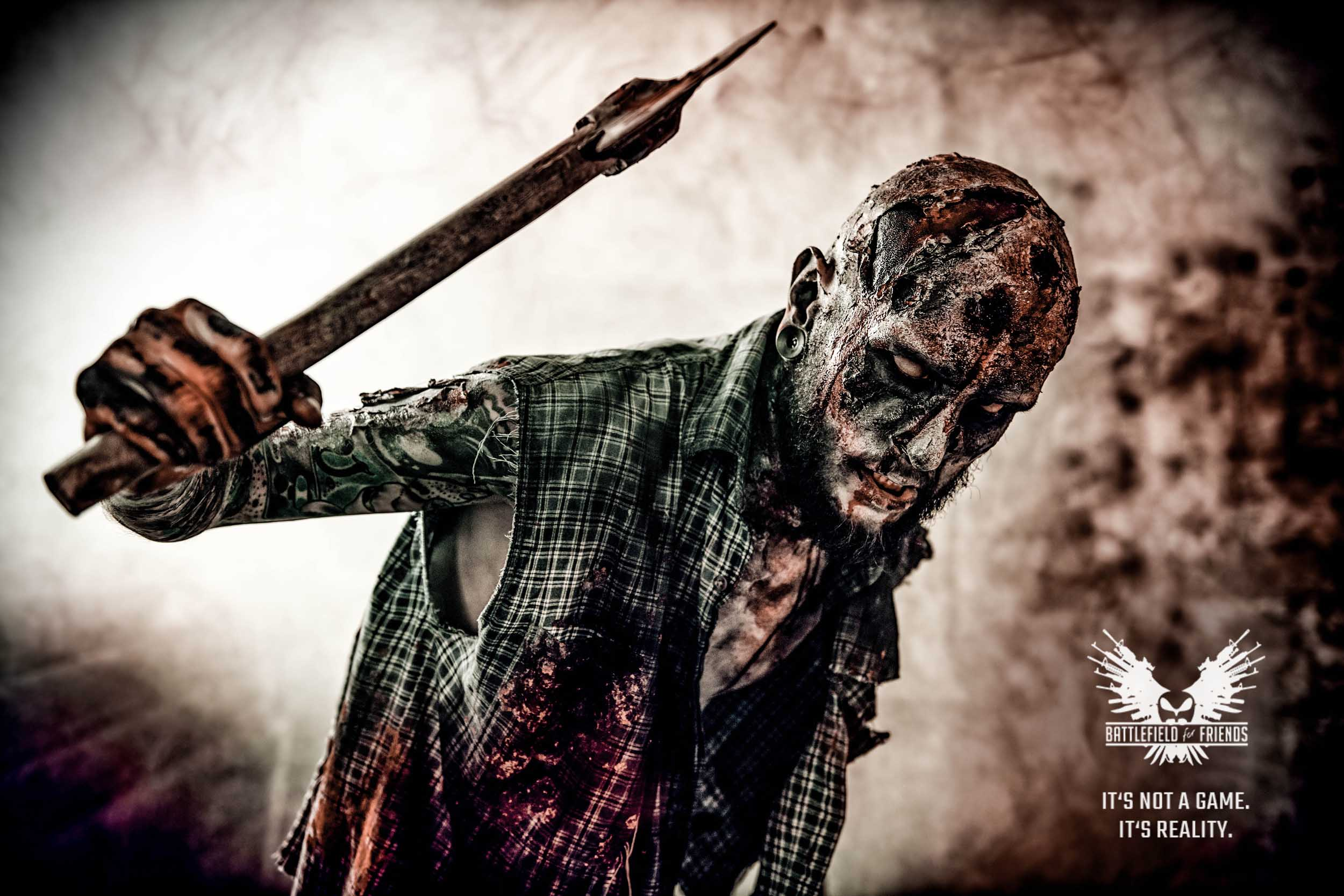 zombie man with axe